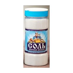 Соль морская мелкая вс сеянная помол №0